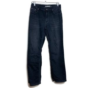 Flypaper Jeans Size 16 Childrens Dark Wash Cotton